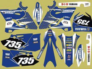 Kit DÉco Yamaha Yz 125 250 2015 2016 Origine 3
