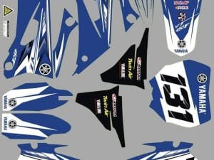 Kit DÉco Yamaha Yzf 250 450 2006 2009 Origine