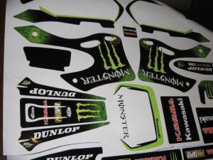 Kit Deco Kawasaki Kx 125 250 1999 2002 Monster