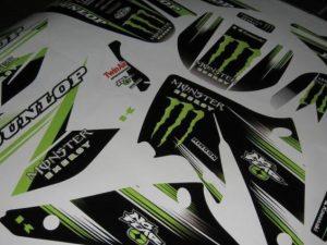 Kit Deco Kawasaki Kxf 250 2004 2005 Monster #3