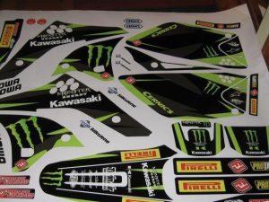 Kit Deco Kawasaki Kxf 250 2006 2008 Monster
