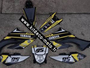 Kit Déco Yamaha Factory 125 Wr Wrx Wrr Yellow Fluo