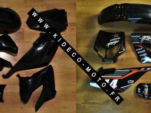 Kit DÉco Derbi Xtreme Xrace Avant 2011 Black
