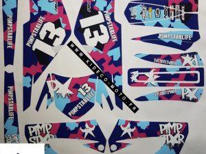 Kit DÉco Derbi Xtreme Xrace Avant 2011 Pimpstarlife