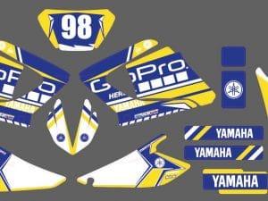 Kit Déco 125 Dtx Dtr Dt Yamha Après 2004 Gopro