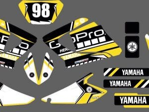 Kit Déco 125 Dtx Dtr Dt Yamha Après 2004 Gopro2