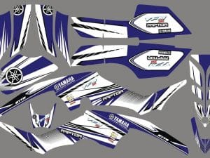 Quad 350 Raptor Kit Deco Factory Yamaha Yfm