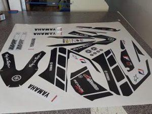 Kit Déco 125 Wrx Yamaha Black