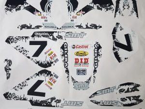 Kit Déco Gilera Smt 50cc White 2