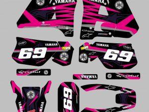 125 Dtr Avant 2003 Alpinstar Black Pink