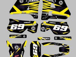 125 Dtr Avant 2003 Alpinstar Black Yellow