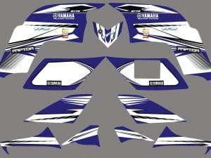 Kit Deco Quad Yamaha Raptor 90 125 Factory