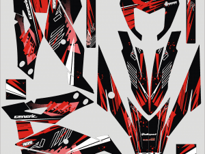 Kit Deco Generic Trigger Red