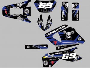 Kit Deco Grenzgaenger Yamaha 125 Dtx