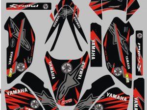 Kit Deco Yamaha 600ttre Redline