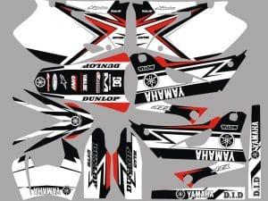 Kit Deco Yamaha Yzf White
