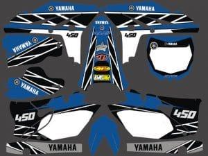 Kit Deco Yzf Yamaha Anniversary