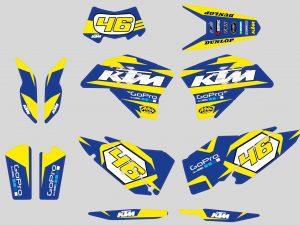 Kit Deco Ktm Exc Gopro