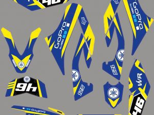 Kit Deco Yamaha 125 Wrx Gopro