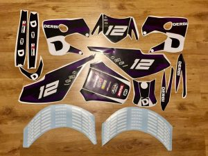 Kit Deco Derbi 2003 2004 Purple