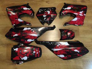 Kit Deco Derbi 2003 2004 Red