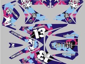 Kit Deco Derbi Carenage Tnt Camo