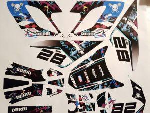 Kit Deco Derbi Drd Racing Color