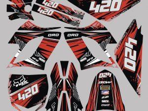 Kit Deco Derbi Drd Racing Red Line