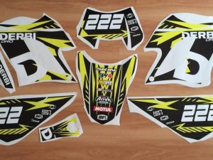 Kit Deco Derbi Drd Racing Yellow