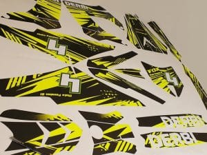 Kit Deco Derbi Victoria Bull Tunr Yellow