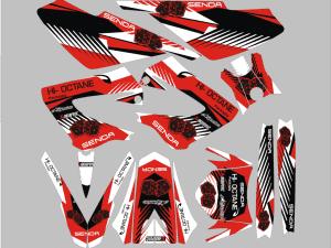 Kit Deco Derbi Xrace Xtreme Red