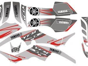 Kit Deco Quad Yamaha 350 Raptor Grey