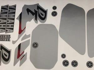 kit deco yamaha 125 dtr grey